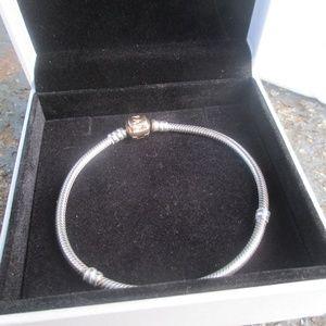 Pandora bracelet 14k clasp 585 ALE